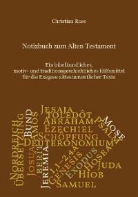 Cover Notizbuch zum Alten Testament