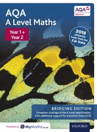 Cover Edexcel A Level Maths: Year 1 and 2: Bridging Edition