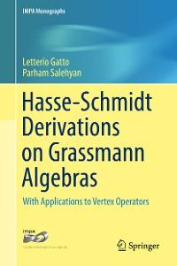 Cover Hasse-Schmidt Derivations on Grassmann Algebras