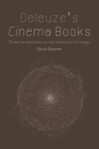 Cover Deleuze's Cinema Books