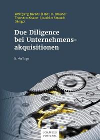 Cover Due Diligence bei Unternehmensakquisitionen.