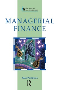 Cover Managerial Finance