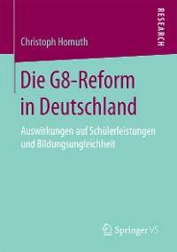 Cover Die G8-Reform in Deutschland
