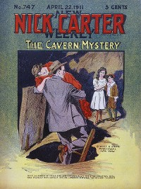 Cover Nick Carter 747: The Cavern Mystery