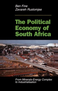 Cover Political Economy Of South Africa