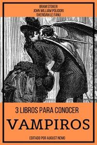 Cover 3 Libros para Conocer Vampiros