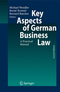 Cover Key Aspects of German Business Law