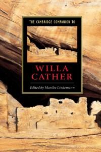 Cover Cambridge Companion to Willa Cather