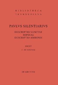 Cover Descriptio Sanctae Sophiae. Descriptio Ambonis