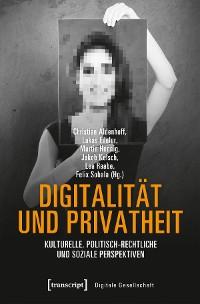 Cover Digitalität und Privatheit