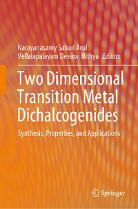 Cover Two Dimensional Transition Metal Dichalcogenides