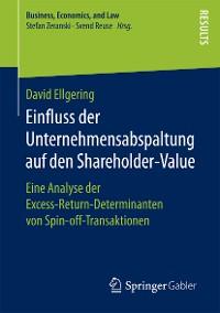 Cover Einfluss der Unternehmensabspaltung auf den Shareholder-Value