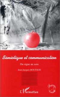 Cover Semiotique et Communication