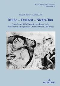 Cover Mue - Faulheit - Nichtstun