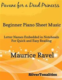 Cover Pavane for a Dead Princess Beginner Piano Sheet Music