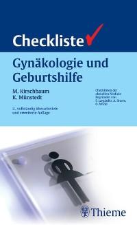Cover Checkliste Gynäkologie und Geburtshilfe