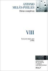 Cover Millán-Puelles. VIII. Obras completas