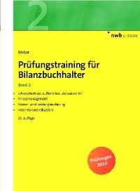 Cover Prüfungstraining für Bilanzbuchhalter, Band 2