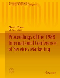 Cover Proceedings of the 1988 International Conference of Services Marketing