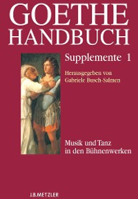 Cover Goethe-Handbuch Supplemente
