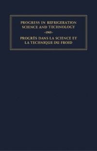 Cover Progress in Refrigeration Science and Technology
