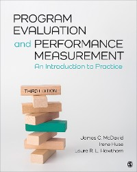 Cover Program Evaluation and Performance Measurement