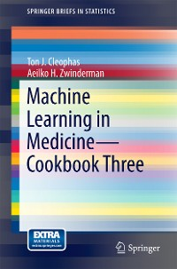 Cover Machine Learning in Medicine - Cookbook Three
