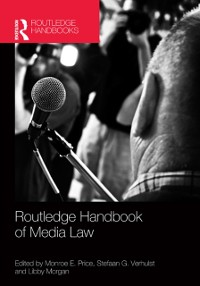 Cover Routledge Handbook of Media Law