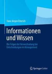 Cover Informationen und Wissen