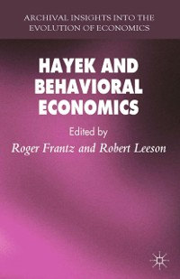 Cover Hayek and Behavioral Economics