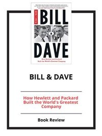 Cover Bill & Dave