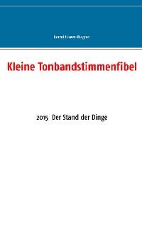 Cover Kleine Tonbandstimmenfibel