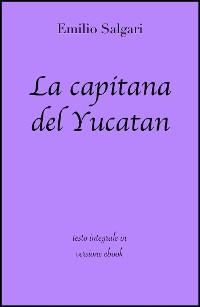 Cover La capitana del Yucatan di Emilio Salgari in ebook