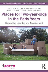 Cover Places for Two-year-olds in the Early Years