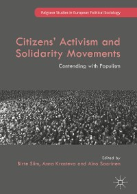 Cover Citizens' Activism and Solidarity Movements