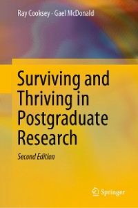 Cover Surviving and Thriving in Postgraduate Research