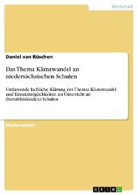 Cover Das Thema Klimawandel an niedersächsischen Schulen
