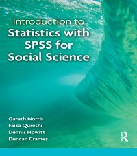 Cover Introduction to Statistics with SPSS for Social Science