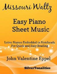 Cover Missouri Waltz Easy Piano Sheet Music