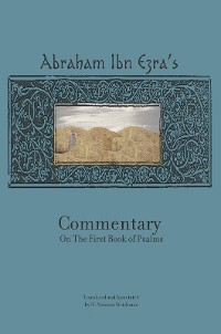 Cover Rabbi Abraham Ibn Ezra's Commentary on the First Book of Psalms