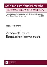 Cover Annexverfahren im Europaeischen Insolvenzrecht
