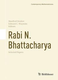 Cover Rabi N. Bhattacharya