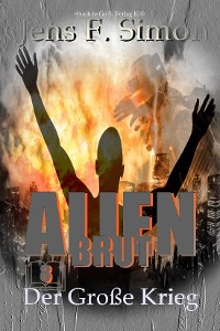 Cover Der große Krieg (Alien Brut 8)