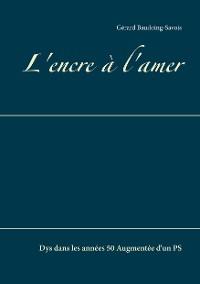 Cover L'encre à l'amer