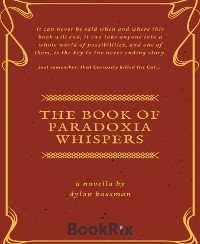 Cover The Book of Paradoxia Whispers