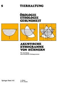 Cover Akustische Ethogramme von Huhnern