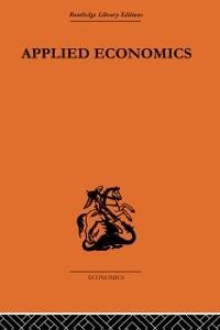 Cover Applied Economics
