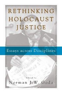 Cover Rethinking Holocaust Justice