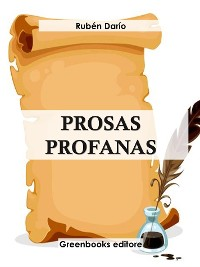 Cover Prosas profanas