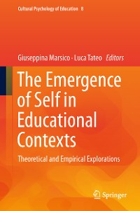Cover The Emergence of Self in Educational Contexts